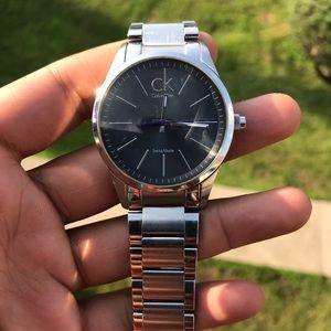Men's Calvin Klein Watch Silver